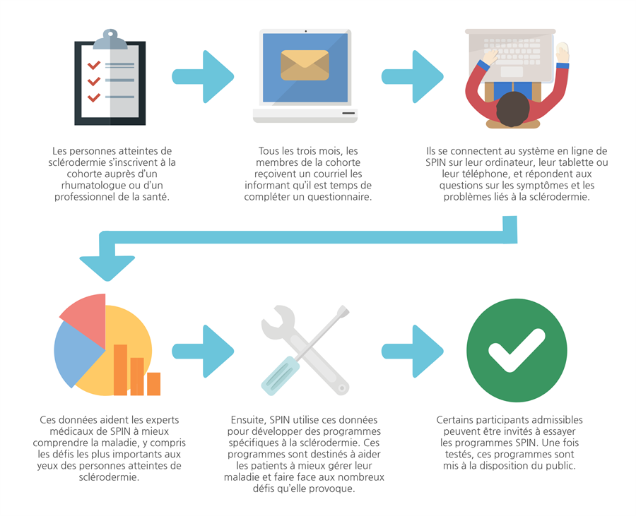 Cohort Process Infographic FR
